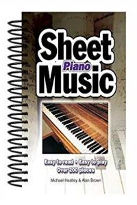 ePub Piano Sheet Music: Easy to Read, Easy to Play; Over 150 Pieces download