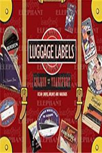 ePub Golden Age of Transport Luggage Labels: 20 Vintage Luggage Label Stickers (Travel Stickers) download