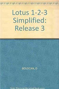 ePub Lotus 1-2-3 Simplified, Release 3 download