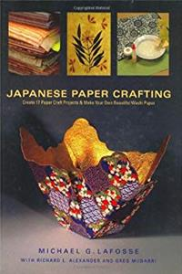 ePub Japanese Paper Crafting: Create 17 Paper Craft Projects  Make your own Beautiful Washi Paper download