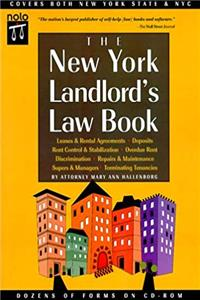 ePub The New York Landlord's Law Book with CDROM (Every New York Landlord's Legal Guide) download