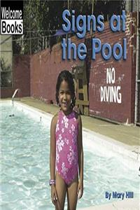 ePub Signs at the Pool (Welcome Books: Signs in My World) download