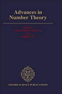 ePub Advances in Number Theory: The Proceedings of the Third Conference of the Canadian Number Theory Association, August 18-24, 1991, The Queen's University at Kingston (Oxford Science Publications) download