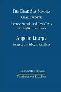 ePub The Dead Sea Scrolls, Volume 4B: Angelic Liturgy: Songs of the Sabbath Sacrifices download
