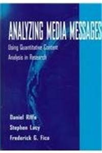 ePub Analyzing Media Messages: Using Quantitative Content Analysis in Research (Lea's Communication Series) download