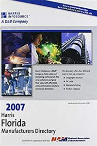 ePub 2007 Harris Florida Manufacturers Directory (DIRECTORY OF FLORIDA INDUSTRIES) download