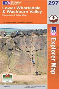 ePub Exp 297 Lower Wharfedale  Upper Wasr (Explorer Maps) download