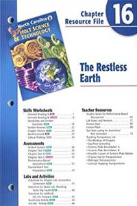 ePub North Carolina Holt Science  Technology Chapter 16 Resource File: The Restless Earth download