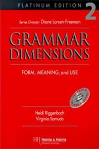 ePub Grammar Dimensions 2, Platinum Edition: Form, Meaning, and Use download