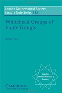 ePub LMS: 132 Whitehead Groups, Finite (London Mathematical Society Lecture Note Series) download