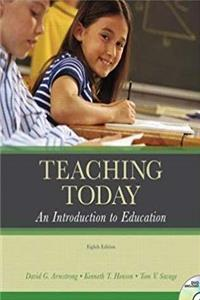 ePub Teaching Today: An Introduction to Education (Instructor's Copy) (8th Edition) download