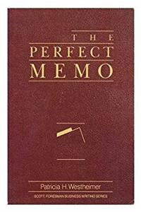 ePub The Perfect Memo (Scott, Foresman Business Writing Series) download