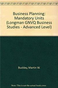 ePub Business Planning: Mandatory Units (Longman GNVQ Business Studies - Advanced Level) download