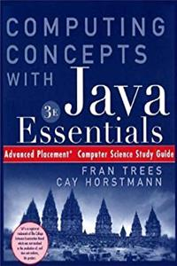 ePub (WCS) Computing Concepts w/Java Essentials: Advnced Placement Study Guide download