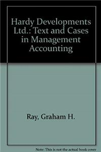 ePub Hardy Developments Ltd.: Text and Cases in Management Accounting download